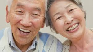 Japan Old Couple_healthy